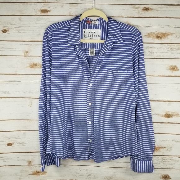 0fd42807 Frank & Eileen Tops | Frank Eileen Barry Striped Button Down Shirt ...